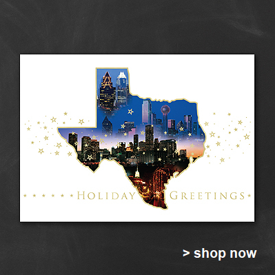 houston christmas cards online